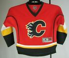 Calgary Flames NHL Youth Long Sleeve Red Jersey #20 Glencross Size 4 $29.99 USD on eBay