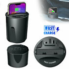 Fast Qi Wireless Charger Car Charger Cup Holder For Samsung S9/S8 Plus iPhone X