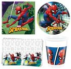 Marvel SPIDERMAN TEAM-UP Birthday Party Range Tableware Supplies Decorations