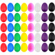 EVNEED 40 Pcs Plastic Egg Shakers Set Percussion Musical Maracas Kids Toys...