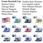 NEW Basketball Game Teams Fitted Cap Flat Brim Adjustable Snapback Baseball Hat on eBay