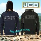 JCB Horton Heavyweight Hooded Top Mens Hoodie Sweatshirt Workwear Work Top Hoody
