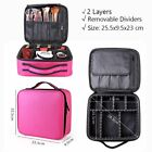 New Large Makeup Case Bag Cosmetic Storage Make Up Box Bags Beauty Organizer US