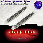 KGS 12 Inch signature LED light Stop/Turn/Tail RV Trailer Tail lights DOT/SAE
