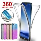 Case For Huawei P20 P30 Pro Mate Lite P Smart Covr 360 Hybrid Shockprof Silicone
