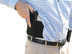 Side Draw Belly Band Gun Holster w/ Dual Magazine Pouch. Left or Right Hand Draw