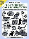 Ready-to-Use Old-Fashioned Cat Illustrations (Dover Clip Art Ready-to-Use) by G