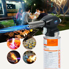 UK Blow Torch Butane Gas Flamethrower Burner Welding Auto Ignition Soldering BBQ