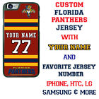 CUSTOMIZE FLORIDA PANTHERS PHONE CASE COVER FITS iPHONE SAMSUNG HTC LG etc $20.98 USD on eBay