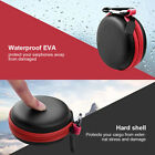 Earphone USB Cable Storage Bag Portable Hard Round  Earphone Bags Carabiner New
