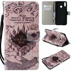 Ancient Castle PU Leather Wallet Case Flip Cover Stand Card Slot For All Phones