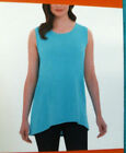 Adrienne Vittadini Women's Hi/Low Hem Sleeveless Top - Pick Color/Size, NWT