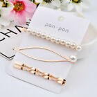 Pearl Hair Clip Barrettes 2020 Fashion For Women Handmade Hairpins Accessories
