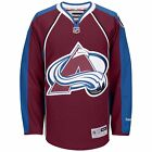 NHL Colorado Avalanche Premier Reebok Burgundy Hockey Jersey $39.98 USD on eBay