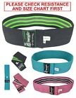 Resistance Bands Hip Exercise Bands for Booty & Glute Fitness Yoga Bands image