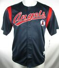Los Angeles Angels Men's Navy S/S Dynasty Embroidered Baseball Jersey MLB L, XL on Ebay
