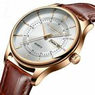 Men New Fashion Relogio Masculino Simple Ultra-Thin Mens Watches Top Brand Luxur image