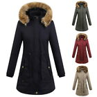 Lady Autumn And Winter Coats Drawstring Waist Design Warm Hooded Jacket DISPLAY