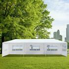 10'x30' Canopy Outdoor Wedding Party Tent Gazebo Pavilion w/5/7/8 Walls Cover