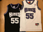 NWT #55 Jason Williams Vintage Throwback Swingman Men's Jersey Sacramento Kings
