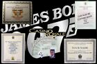 JAMES BOND CERTIFICATES..... JAMES BOND OO7 COLLECTION $14.0 USD on eBay