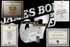 JAMES BOND OO7.... CERTIFICATE COLLECTION $14.0 USD on eBay