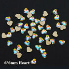 20Pcs Nail Art Rhinestones Glitter Gems Holographic 3D Decorations Manicure
