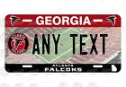 Atlanta Falcons Football Car License Plate Motorcycle Plate Bicycle Plate Text on eBay