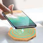 Fast Qi Wireless Charger Pad Stand Dock For Samsung Galaxy S8 S7 iPhone XS X 8
