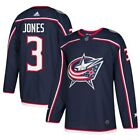 adidas Seth Jones Columbus Blue Jackets Navy Authentic Player Jersey