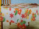 NWT Celebrate Summer Together Zinnia Floral Print Tablecloth