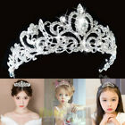 Kyпить Lady girl Bridal Princess shine Crystal Hair Tiara Wedding Crown Veil Headband на еВаy.соm
