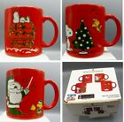 Waechtersbach Red Snoopy Coffee Mug CHOICE Pick Christmas Germany Peanuts 50th  image