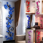 3d Flower Removable Vinyl Quote Diy Wall Sticker Decal Mural Home Room Decor New