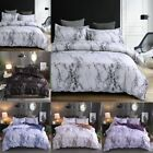 Marble Bedding Set Black Duvet Cover Twin/Queen/King High Quality Ultra Soft image