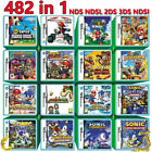 482 In 1 /208 In 1 / Heartgold / Soulsilver Game Card Fits Nintendo Nds Ndsl 2ds