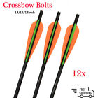 Archery Safety Glass Crossbow Bolt Fiberglass Arrow  - Target Hunting Shooting