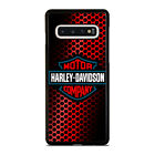 HARLEY DAVIDSON LOGO RED Samsung Galaxy S5 S6 S7 S8 S9 S10 S10e Edge Plus Case $15.9 USD on eBay