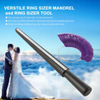Plastic Ring Sizer Mandrel Finger Jewellery Sizing Measure Stick Tool + Ring Kit