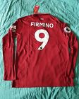 Roberto Firmino 2018/19 Liverpool Home Red Long Sleeve Jersey