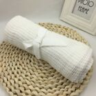 90*70cm Cotton Baby Blanket Breathable Muslin Wrap Bamboo Fiber Baby Swaddle