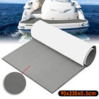 2PCS 90''x35'' 5MM Marine Boat Self-Adhesive Floor Teak Foam Yacht Decking Sheet