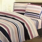 Sheet Set 100 Percent Cotton Print Twin Full Queen Luxury Soft Deep Free WC image