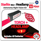 RED Headlamp + Torch Starlite Mini (Astronomy Night Vision) Double Pack image