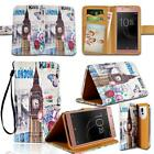For Various Sony Xperia Phones - Leather Smart Stand Wallet Cover Case