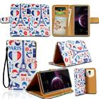 For Various Cubot Mobile Phones - Leather Smart Stand Wallet Cover Case