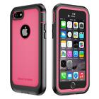 iPhone 7/8 Case ImpactStrong Ultra Protective Case with Built-in Clear Screen