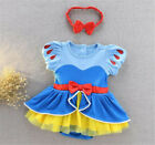 New Baby Girls Superhero Romper Bodysuit Jumpsuit Fancy Party Costume Toddler UK