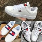 Kyпить NEW Tommy Womens Unisex White Trainers Jeans Sneaker Running Sport Casual Shoes на еВаy.соm