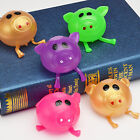 Kyпить Solid Pig Anti Stress Splat Water Ball Jello Decompression Squeeze Toy Nice на еВаy.соm